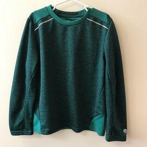 Champion boys green & black long sleeve size 6-7